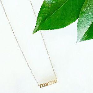 Jennifer Meyer 14K Gold Mama Necklace